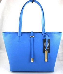 Vince Camuto Leather Leila Tote in Blue