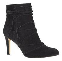 Vince Camuto Chenai Laced BLACK TRUE SUEDE Boots