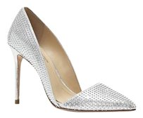 Vince Camuto Imagine Ossie Studded Dorsay silver Pumps