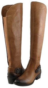 Vince Camuto Bedina Western Brown Boots