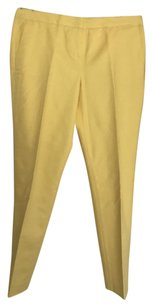 Vince Camuto Straight Pants Yellow