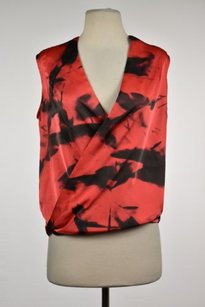 Vince Camuto Womens Top Red