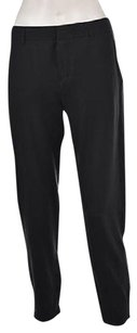 Vince Womens Dark Casual Ankle Length Solid Trousers Pants