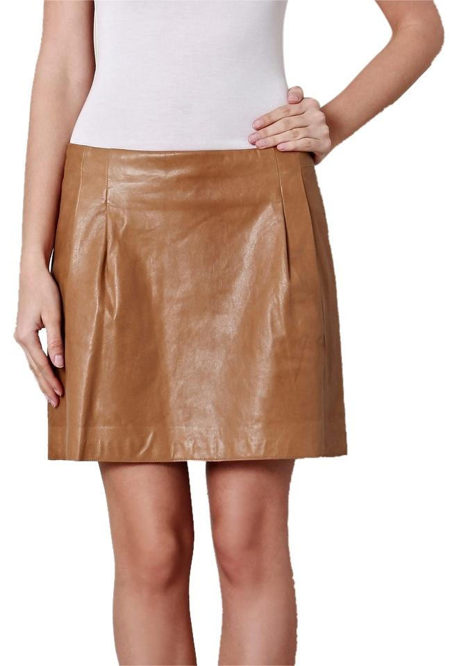 Vince leather skirt
