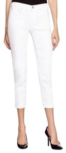 Vince White Destroyed Skinny Ankle 27 Relaxed Fit Jeans