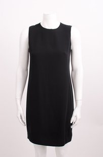 Vince short dress Black Silk Crepe on Tradesy