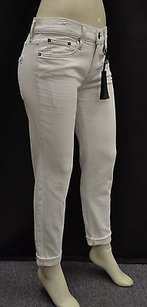 Vince Ivory Distressed Stretch Fit 140867f Skinny Jeans