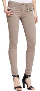 Vince Light Brown Truffle Skinny Jeans