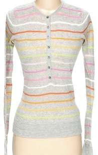 Vince Striped Multi Longsleeve Tunic