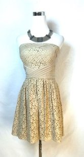 Vince short dress Beige Camuto Lace on Tradesy