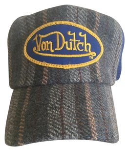 Von Dutch Von Dutch Mesh Blue adjustable Hat