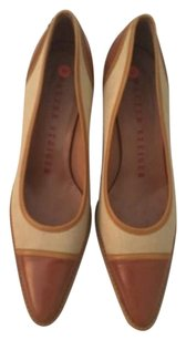 Walter Steiger Canvas Beige Pumps