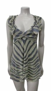 Weston Wear Anthropologie Top Gray beige
