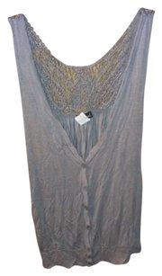 Wet Seal Lace Top Grey
