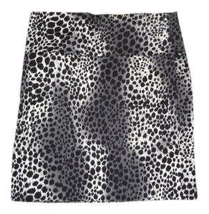 Wet Seal Mini Skirt snow leopard