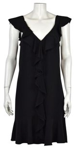 White House | Black Market Womens Knee Length Sleeveless Sheath Dress