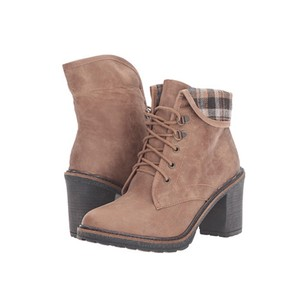 White Mountain Jay Jay Tan Distressed Boots