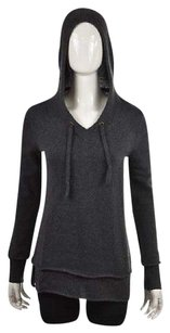 White + Warren Womens Charcoal Sweater