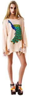 Wildfox Peacock Couture Sweater