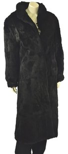 Wilson Furs Full Length Rabbit Fur Fur Coat