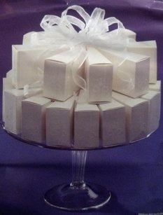 Wilton 140 Favor Cake Boxes Cake Slices White Favor