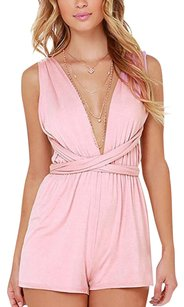 Women Playsuit Romper Dress