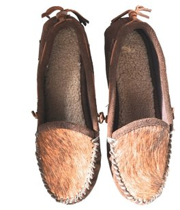 Woolrich Loafers Moccasins brown Flats