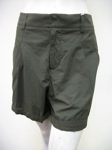 Worth Womens Olive Dress Shorts Green