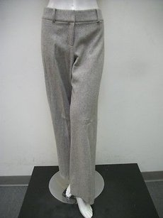 Worth Pale Tweed Wool Pants