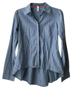 Xhilaration Button Down Shirt Blue