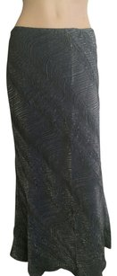 Xscape by Lawrence Kurtz Maxi Skirt Grey