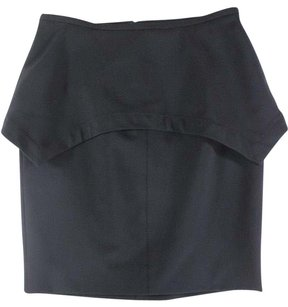 Yigal Azroul Azrouel Black Dramatic Skirt