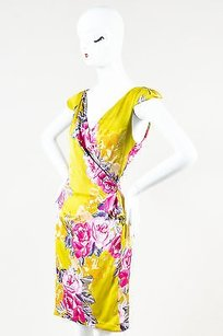 Yoana Baraschi Yellow Purple Dress