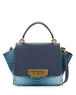 Zac Posen Tote in Navy/Light blue
