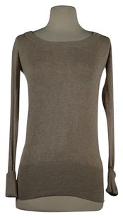 Zara Womens Crew Neck Rayon Knit Toe Sweater