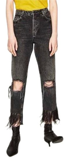 high waisted distressed jeans - Grey Each Other 031Ky6wLep