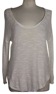 Zara Knit Womens Scoop Neck Cotton Sweater