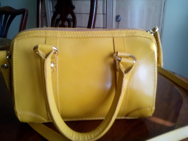Zara Bright Yellow Shoulder Bag 60