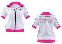 Zumba Fitness Short Sleeve Zip Up